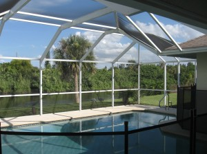 Freshwater Canal Pool Home