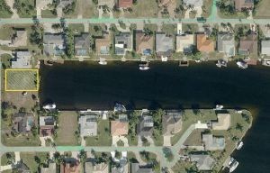 Cape Coral vacant land - waterfront real estate
